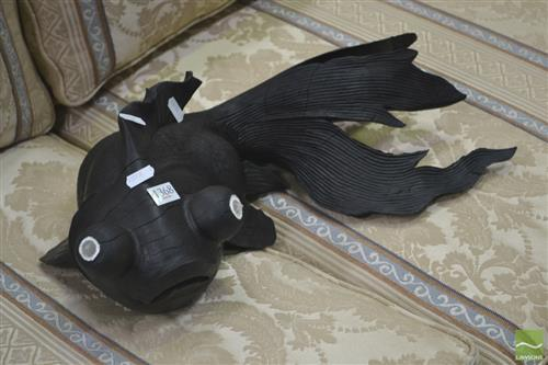 Carved Timber Fish