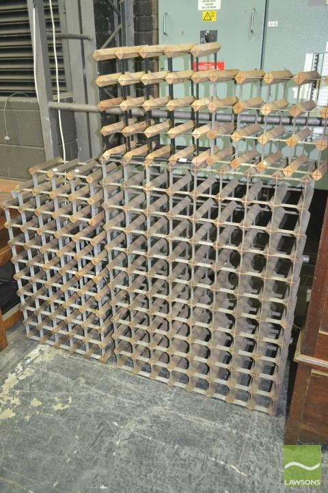 Collection of Various Sized Wine Racks