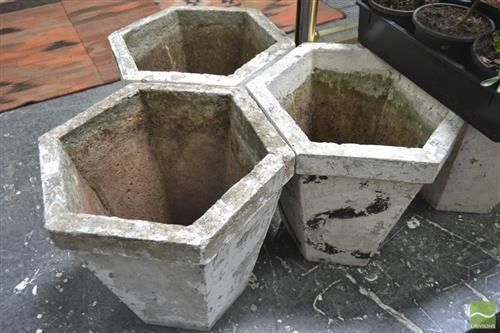 Collection of Hexagonal Planters