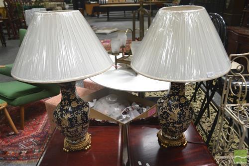 Pair of Replica Table Lamps (4221)