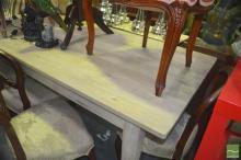 Greywash Oak Table (180cm)