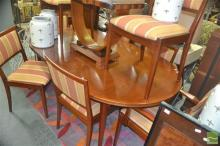 Parker Dining Suite incl. Extension Table (L 180 to 270cm) and Eight Chairs incl. Two Carvers