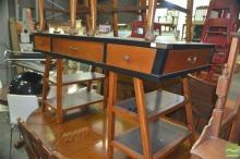 Desk over Trestle Style Legs