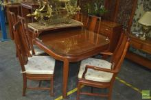 Rosewood Dining Suite incl. Extension Table & Eight Chairs incl. Two Carvers