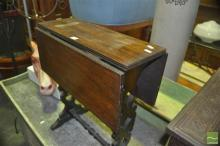 Timber Dropside Table with Pierced Sides