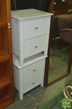 Pair of Modern Bedside Cabinets