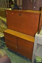 Six Drawer Drop Front Cabinet