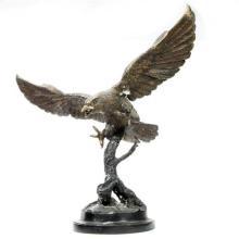 Bronze Eagle Figure