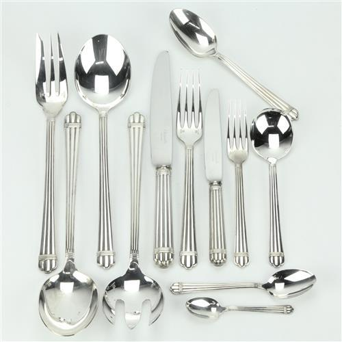 Christofle 'Aria' Cutlery Setting for Ten Persons