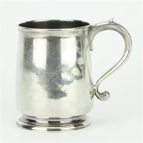English Hallmarked Sterling Silver George I Mug