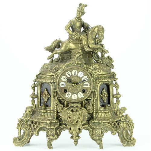 Franz Hermle Son German Metal Clock