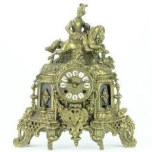 Franz Hermle Son German Metal Clock