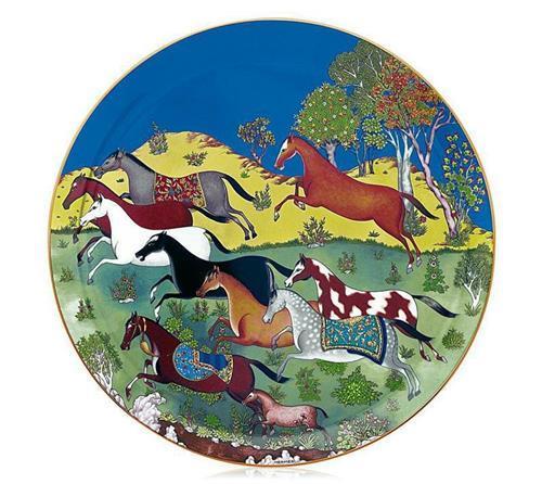 Hermès Cheval d'Orient Tart Platter