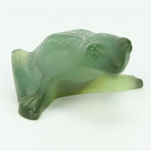 Lalique 'Grenouille Frog' Figure