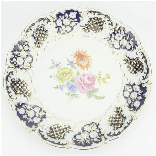 Meissen 20th Century Prunkteller Dish