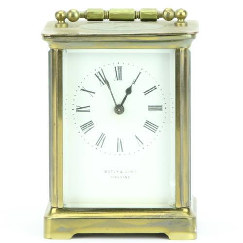 R & Co. Paris Brass Carriage Clock