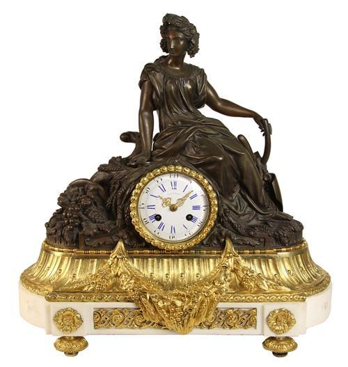 Roblin A Paris Ormolu Clock