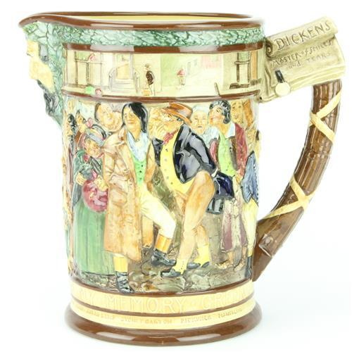 Royal Doulton 'The Dickens Jug' by Charles Noke & Harry Fenton