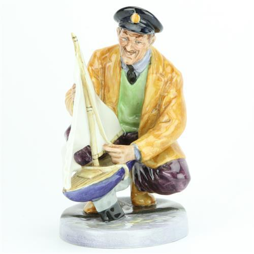Royal Doulton Figure 'Sailor's Holiday' by Mary Nicholl