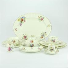 Royal Worcester 'Roanoke' Dinner Setting for Six Persons