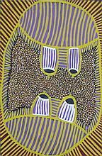 Ada Bird Petyarre (c.1930) - Untitled (Awelye), 2000 88 x 58cm