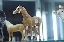 Beswick Palomino Horse Figure