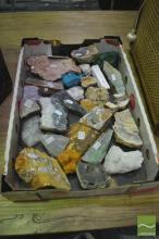 Box of Cut Geology Samples