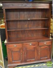 Large Indonesian Timber Wall Unit (key in office)