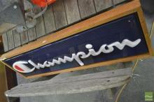 'Champion' Sign