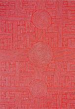 Bambatu Napangardi (c1940 - ) - Women's Ceremony 141 x 98cm