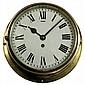 Brass Swiss Esca Ship's Clock