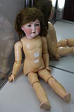 Antique German Cuno & Otto Dressel Bisque Headed Doll, 26