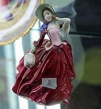 Royal Doulton Figurine 'Autumn Breezes'