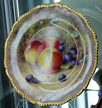 Royal Worcester Ayrton Fruit Plate