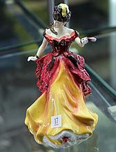 Royal Doulton Figurine 'Belle'