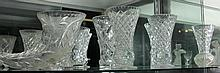 Collection of Crystal Vases