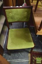 Pair of Parker Chairs w Ottoman