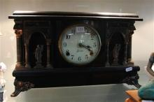 Sessions Timber Mantle Clock