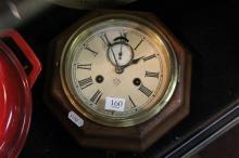 Ansonia Timber Mantle Clock