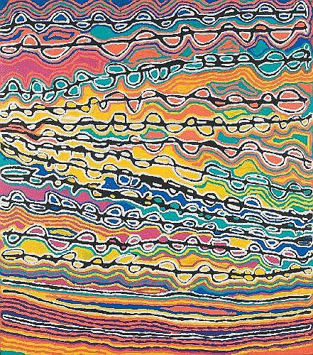 JUDY WATSON NAPANGARDI (CIRCA 1935 - ) - Mina Mina, 2005