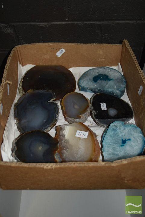 Box 8 Polished Agates