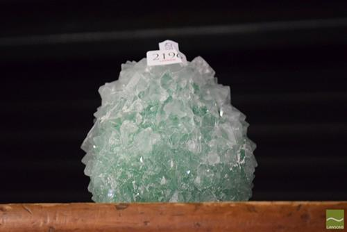 Green Crystal Formation