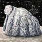 PETER BOOTH (born 1940) - Painting (Small Figure in a Blanket) 2005 oil on canvas, Peter Booth, Click for value