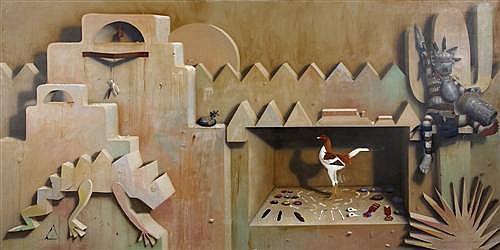 GRAEME TOWNSEND (born 1954) - The Hopi Hop 1988 oil on canvas