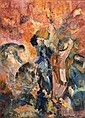 JUDY CASSAB (born 1920) - The Group 1986 oil on canvas, Judy Cassab, Click for value