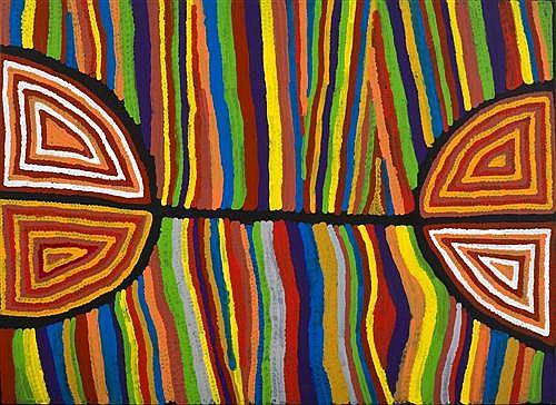 JUDY WATSON NAPANGARDI (born 1925) - Mina Mina 2008 acrylic on canvas