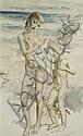 ARTHUR MURCH (1902-1992) 'Study of Wet Children, Arthur (1902) Murch, Click for value