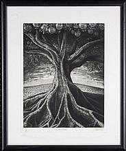 Michael Kempson (1961 -) - The Tree of Souls 50 x 38.5cm