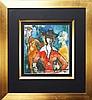 Michael Kmit (1910 - 1981) - Conversation 32.5 x 30cm, Michail Kmit, Click for value
