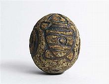 Gloria Fletcher Thancoupie (1937 -2011) - Dream Egg, c1978 12.5 x 10 x 10cm